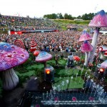 detalle decoracion festival tomorrowland