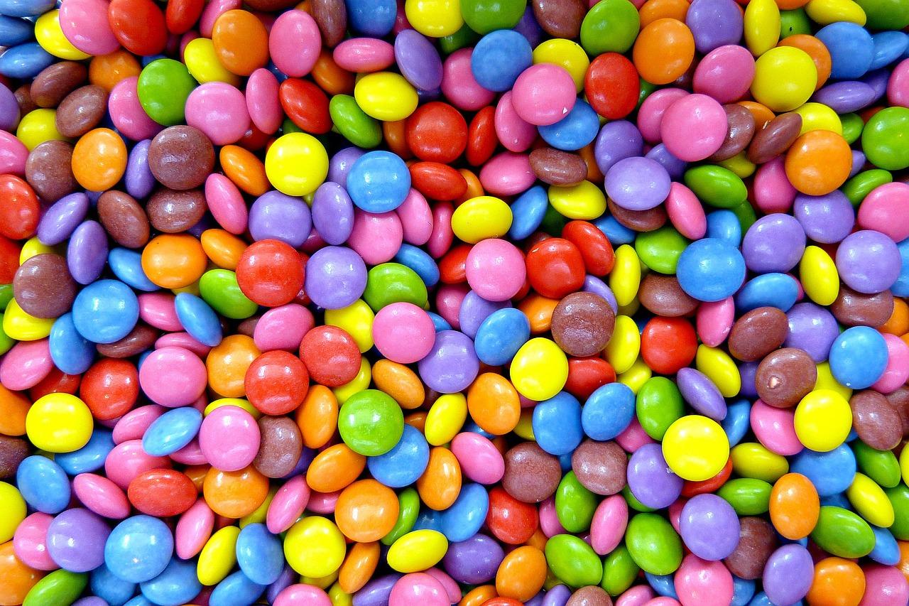 como hacer chocolate de colores