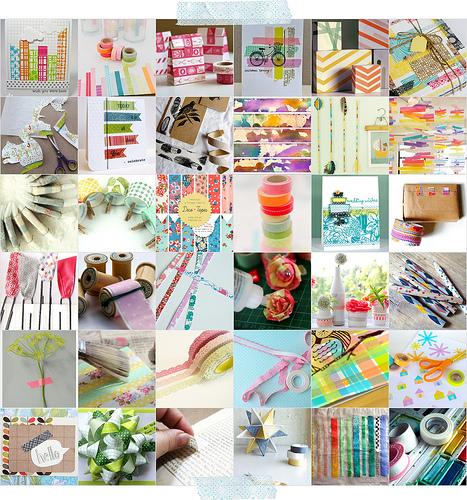 Inspiraci n washi tape para la decoraci n de nuestra fiesta we are party decora tu propia Ideas para decorar con washi tape