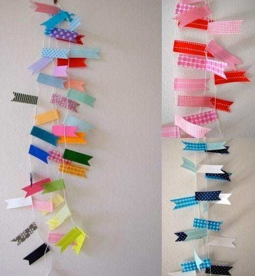 Inspiraci n washi tape para la decoraci n de nuestra - Decorar con washi tape ...