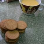 torrijas de galleta - preparacion