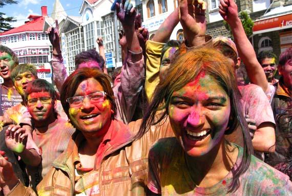 la fiesta de los colores