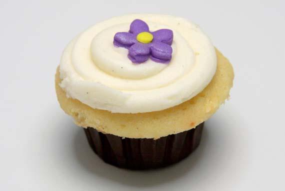 receta de los cupcakes de vainilla para una fiesta