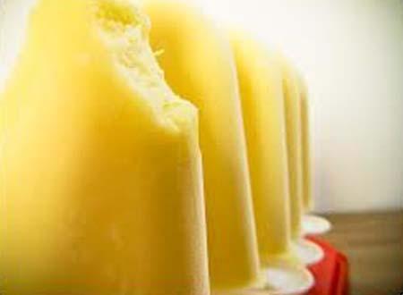 receta de helado de yogur y platano para verano